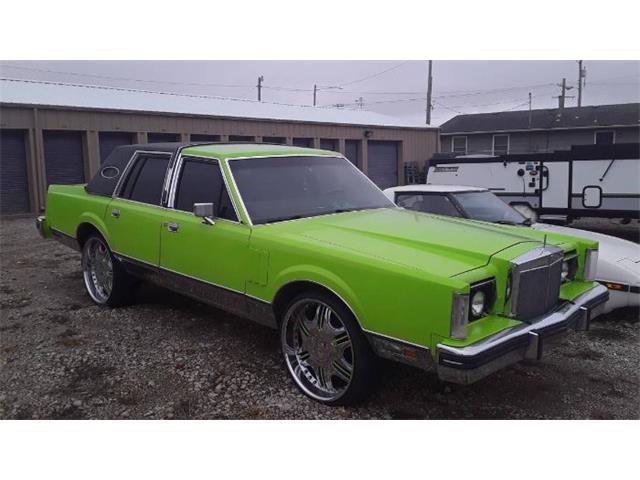 1982 Lincoln Continental (CC-1446369) for sale in Cadillac, Michigan