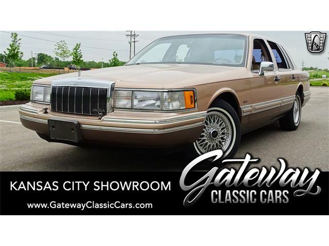 1992 Lincoln Town Car (CC-1446598) for sale in O'Fallon, Illinois