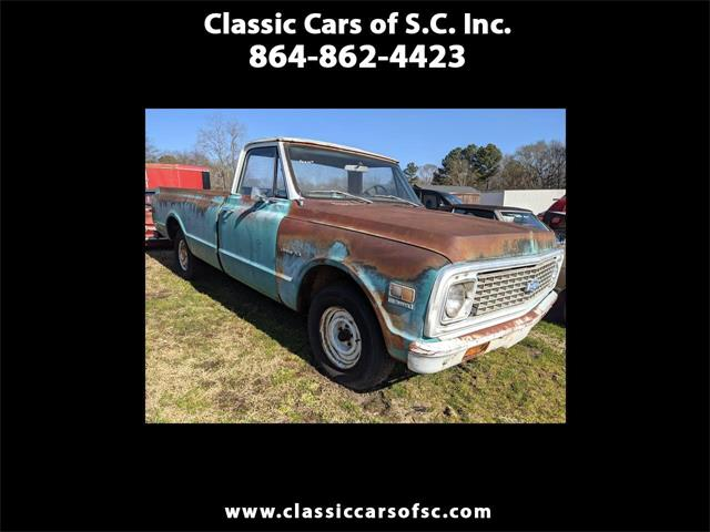 1971 Chevrolet C/K 10 (CC-1446610) for sale in Gray Court, South Carolina