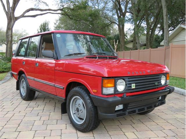 1990 Land Rover Range Rover (CC-1446615) for sale in Lakeland, Florida