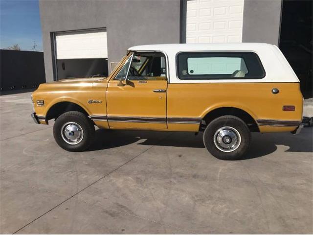 1972 Chevrolet Blazer (CC-1446884) for sale in Cadillac, Michigan