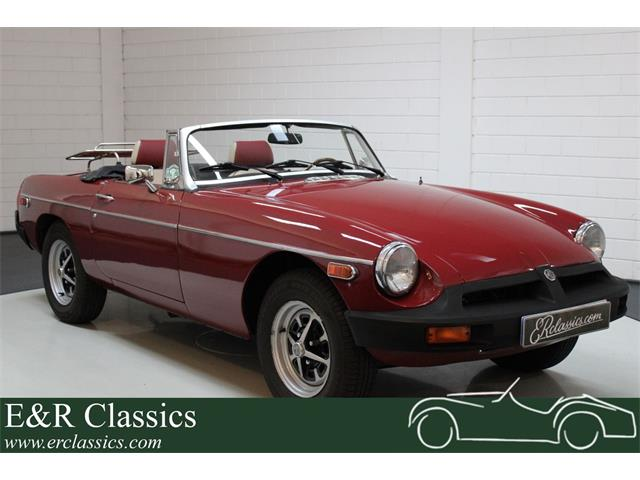 1978 MG MGB (CC-1447054) for sale in Waalwijk, Noord Brabant