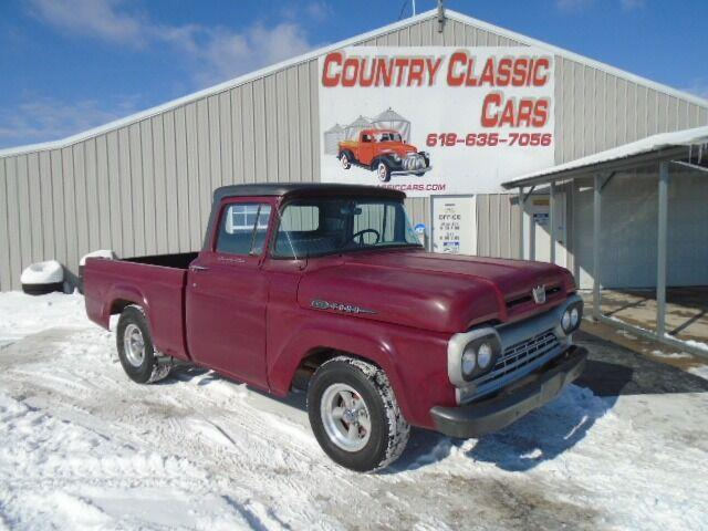 1960 Ford F100 (CC-1447181) for sale in Staunton, Illinois