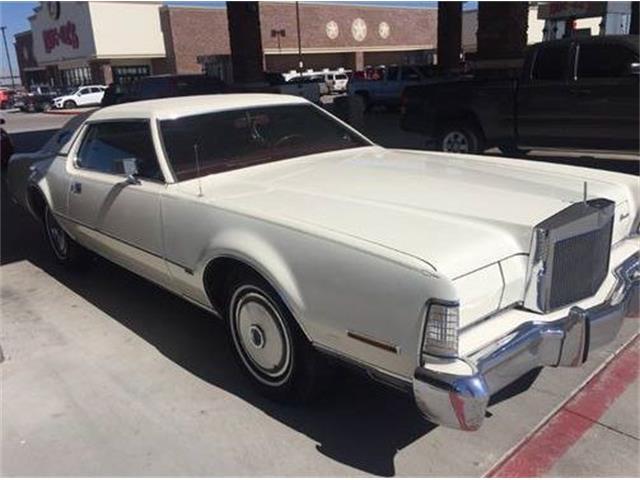 1973 Lincoln Continental (CC-1447201) for sale in Cadillac, Michigan