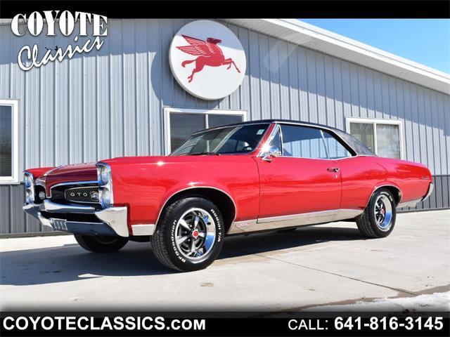 1967 Pontiac GTO (CC-1447297) for sale in Greene, Iowa