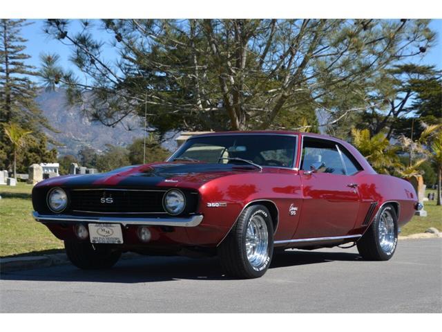 1969 Chevrolet Camaro (CC-1447310) for sale in Santa Barbara, California