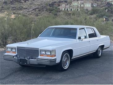 1988 Cadillac 4-Dr Sedan