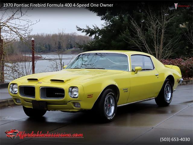 1970 Pontiac Firebird 400 (CC-1447468) for sale in Gladstone, Oregon