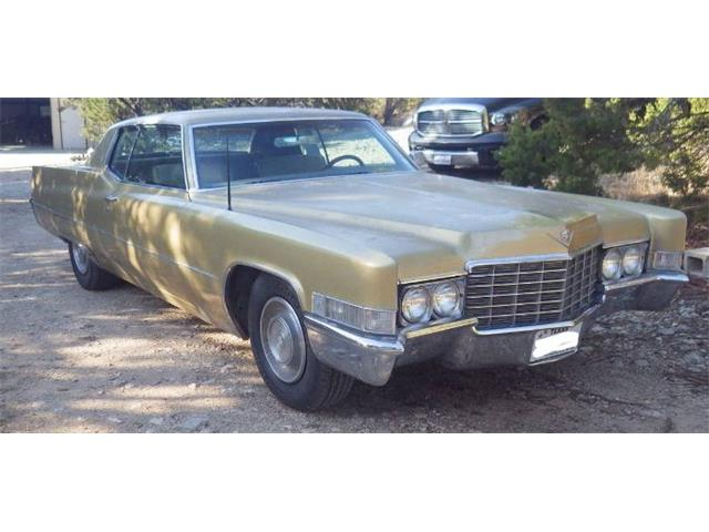 1969 Cadillac Coupe DeVille (CC-1447591) for sale in Cadillac, Michigan