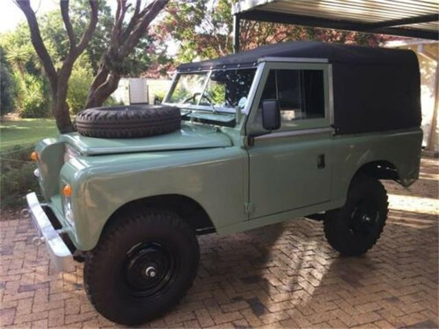 1977 Land Rover Defender (CC-1447609) for sale in Cadillac, Michigan
