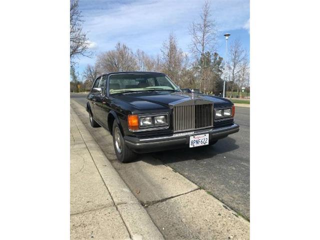 1983 Rolls-Royce Silver Spirit (CC-1447634) for sale in Cadillac, Michigan