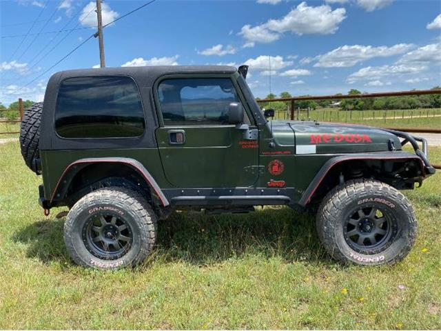 1997 Jeep Wrangler (CC-1447650) for sale in Cadillac, Michigan