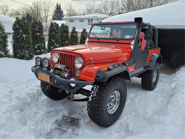 1983 Jeep CJ7 (CC-1447689) for sale in Buffalo, New York