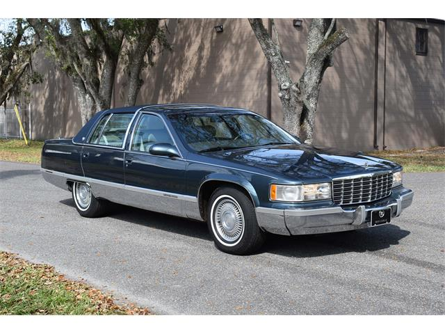 1996 Cadillac Fleetwood Brougham (CC-1447693) for sale in Lakeland, Florida