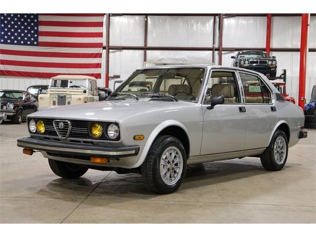 1979 Alfa Romeo Sedan (CC-1447842) for sale in Kentwood, Michigan