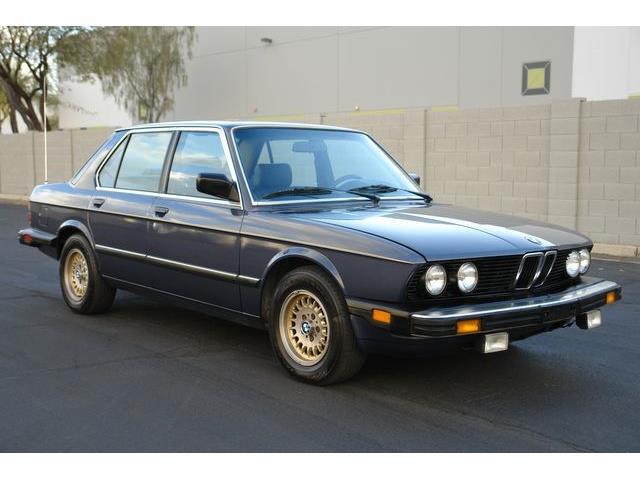 1986 BMW 5 Series (CC-1448003) for sale in Phoenix, Arizona