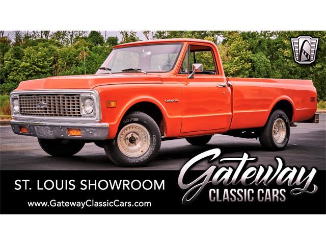 1971 Chevrolet C10 (CC-1448090) for sale in O'Fallon, Illinois