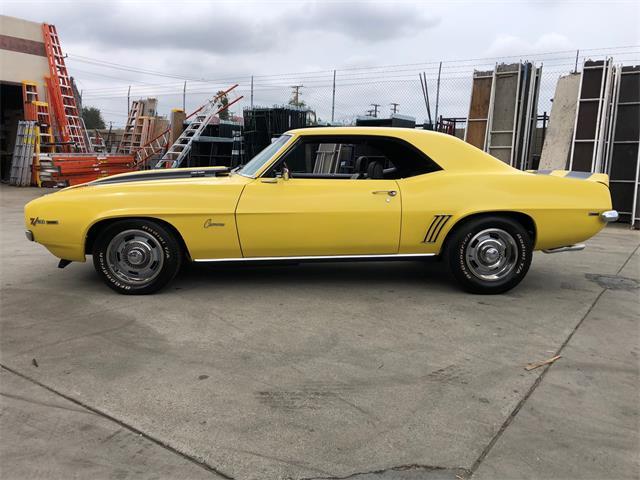 1969 Chevrolet Camaro Z28 (CC-1448112) for sale in orange, California