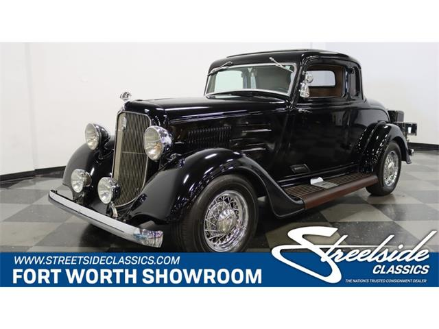 1934 Plymouth 5-Window Coupe (CC-1448137) for sale in Ft Worth, Texas