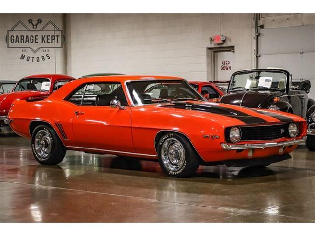 1969 Chevrolet Camaro (CC-1448156) for sale in Grand Rapids, Michigan