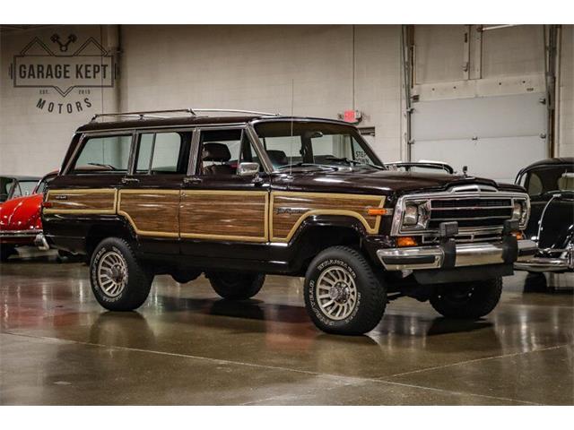1989 Jeep Grand Wagoneer (CC-1448158) for sale in Grand Rapids, Michigan