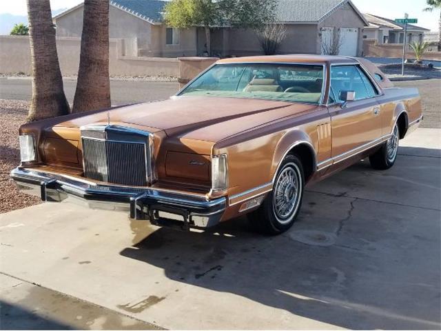 1978 Lincoln Mark V (CC-1448249) for sale in Cadillac, Michigan