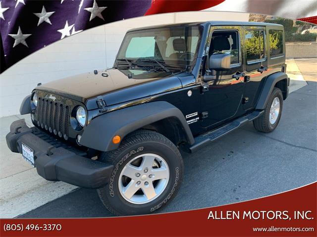 2016 Jeep Wrangler (CC-1448255) for sale in Thousand Oaks, California