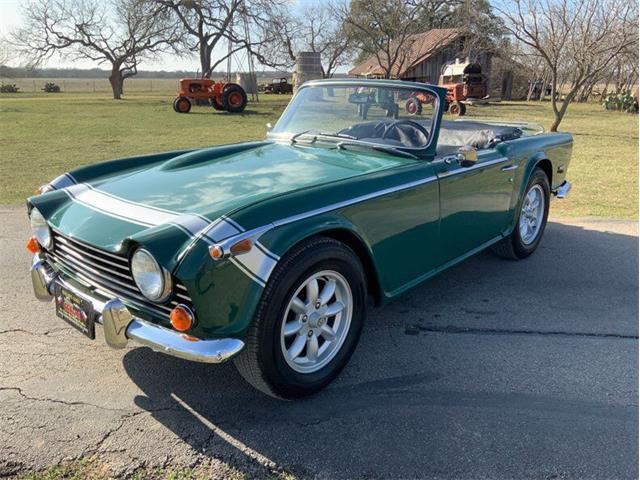 1968 Triumph TR250 (CC-1448416) for sale in Fredericksburg, Texas