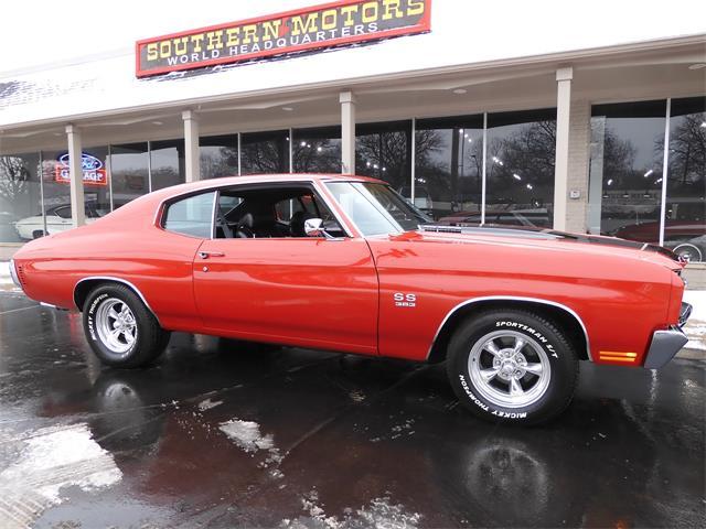 1970 Chevrolet Chevelle (CC-1448530) for sale in CLARKSTON, Michigan