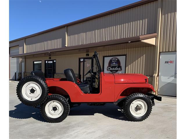 1958 Jeep Willys (CC-1448562) for sale in Spicewood, Texas