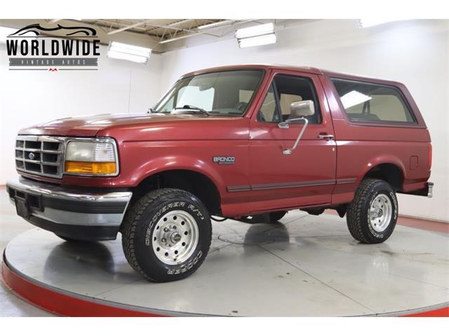 1996 Ford Bronco (CC-1448625) for sale in Denver , Colorado