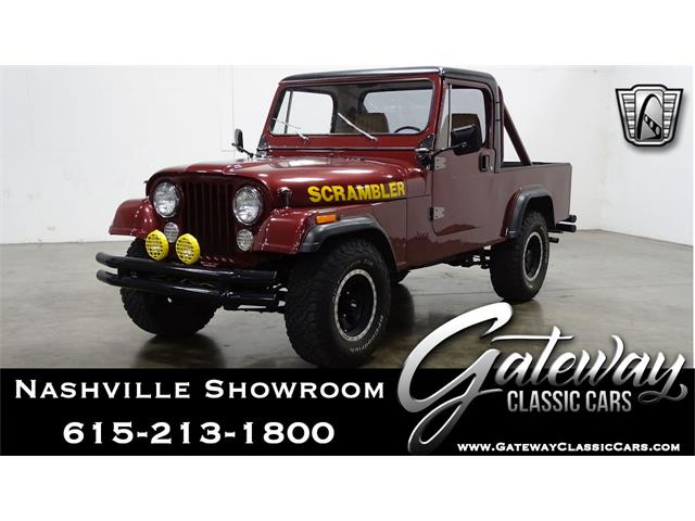 1981 Jeep CJ8 Scrambler (CC-1448672) for sale in O'Fallon, Illinois