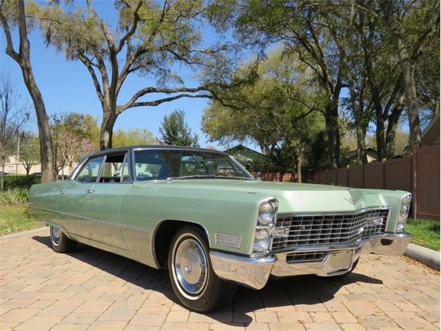 1967 Cadillac DeVille (CC-1448684) for sale in Lakeland, Florida