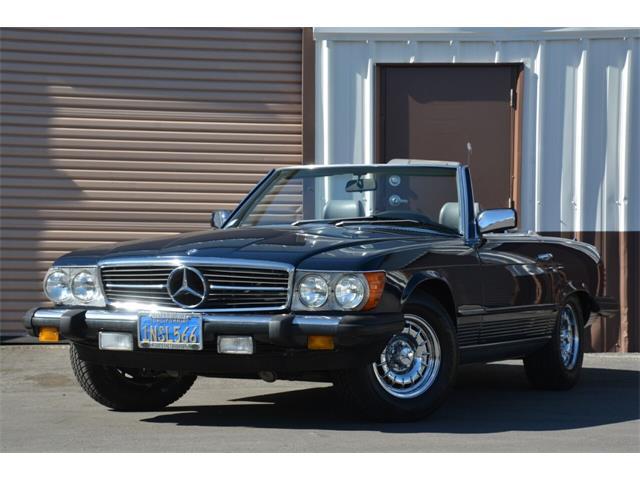1985 Mercedes-Benz 380SL (CC-1448711) for sale in Santa Barbara, California