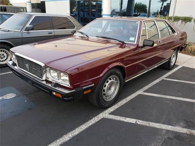 1986 Maserati Quattroporte (CC-1448949) for sale in Cadillac, Michigan