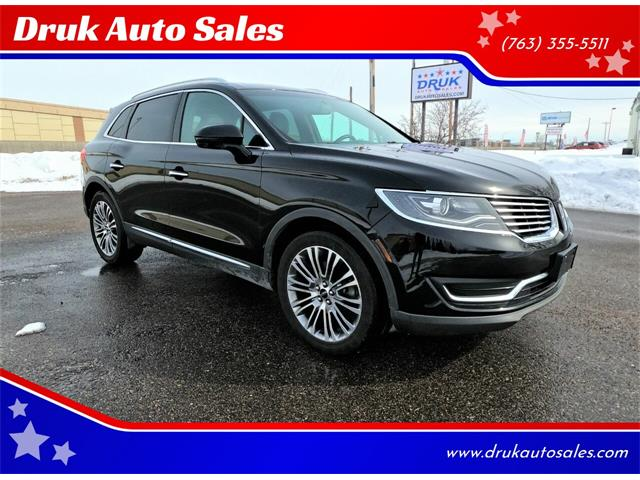 2016 Lincoln MKX (CC-1448994) for sale in Ramsey, Minnesota
