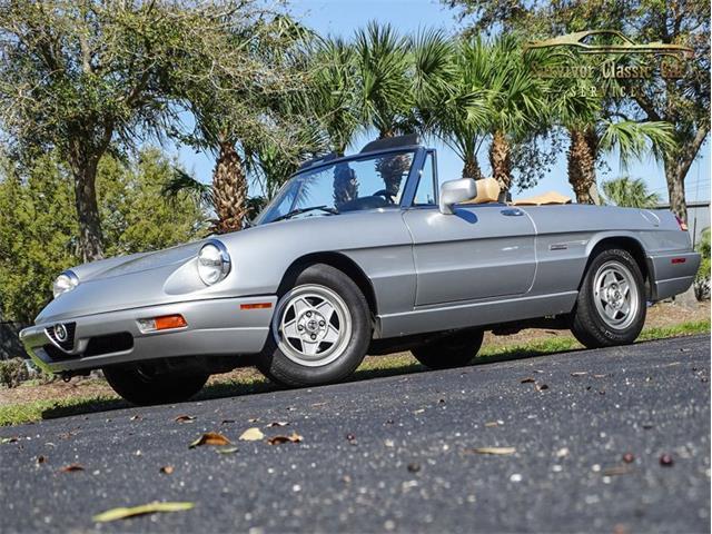 1991 Alfa Romeo Spider (CC-1449239) for sale in Palmetto, Florida