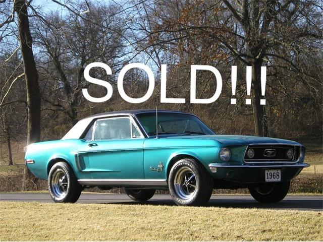 1968 Ford Mustang (CC-1449251) for sale in Geneva, Illinois