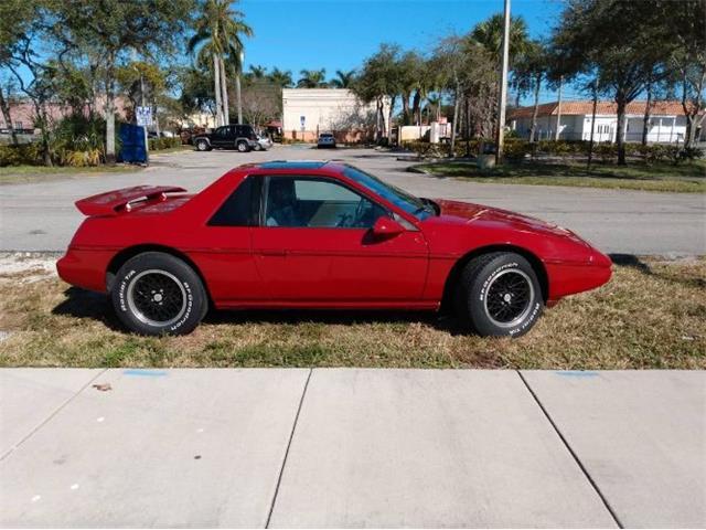 1986 Pontiac Fiero (CC-1449646) for sale in Cadillac, Michigan