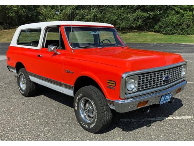 1972 Chevrolet Blazer (CC-1449759) for sale in Cadillac, Michigan