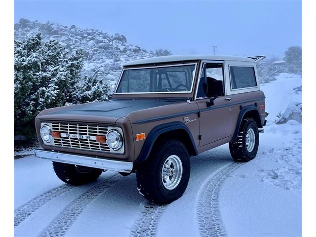 1972 Ford Bronco (CC-1440098) for sale in Chatsworth, California