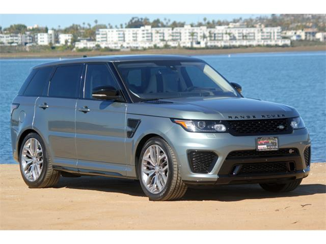 2016 Land Rover Range Rover Sport (CC-1450104) for sale in SAN DIEGO, California