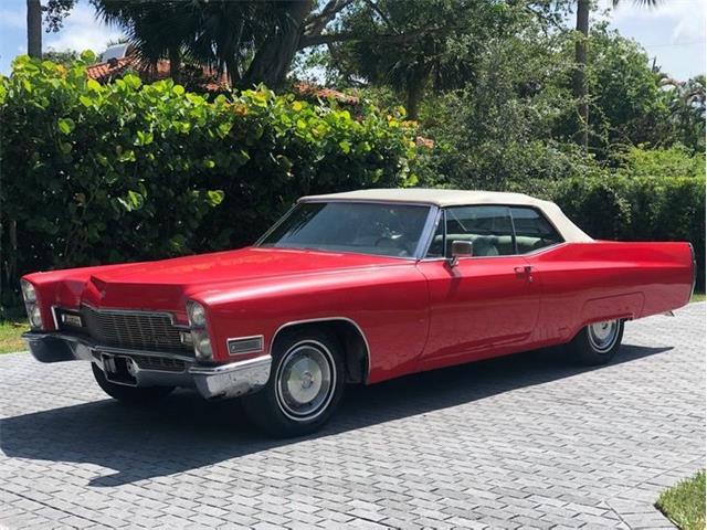 1968 Cadillac DeVille (CC-1451337) for sale in Delray Beach, Florida