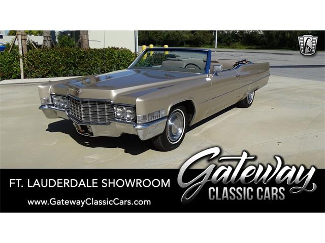 1969 Cadillac DeVille (CC-1451438) for sale in O'Fallon, Illinois