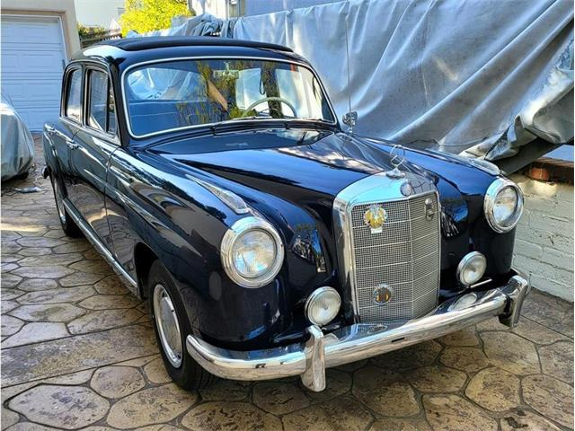 1957 Mercedes-Benz 219 Ponton (CC-1450149) for sale in Glendale, California
