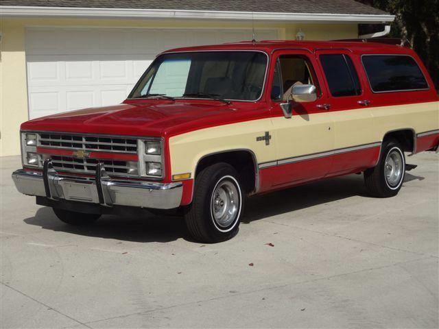 1986 Chevrolet Suburban (CC-1451634) for sale in Sarasota, Florida