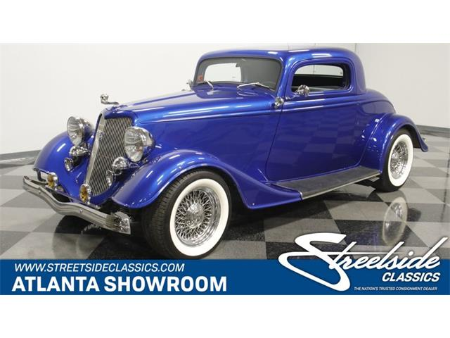 1934 Ford 3-Window Coupe (CC-1451697) for sale in Lithia Springs, Georgia