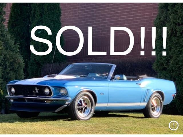 1969 Ford Mustang (CC-1451801) for sale in Geneva, Illinois