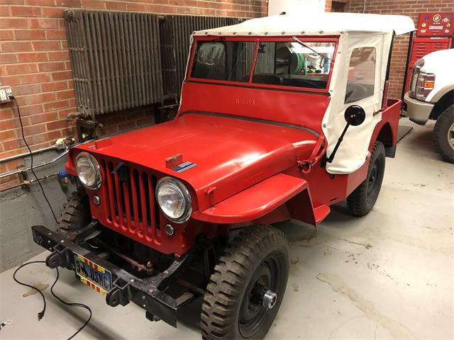 1946 Willys CJ2A (CC-1451912) for sale in Sheridan, Wyoming