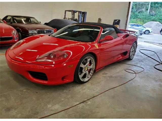 2001 Ferrari 360 Spider (CC-1452037) for sale in Cadillac, Michigan
